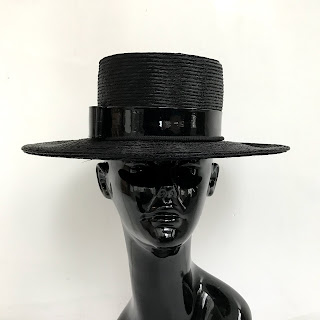 Leslie James Vintage Hat