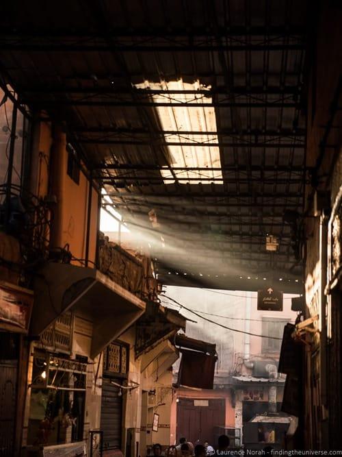 Light in Marrakesh Kasbah