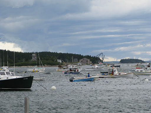 Stonington's harbor
