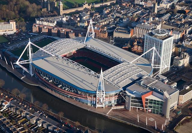 ملعب الألفية (Millennium Stadium) - ويلز، المملكة المتحدة