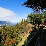 Mirante na Reserva Nacional Coihayque, Chile