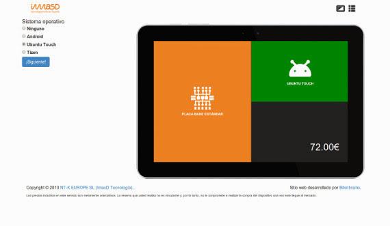 La primera tablet con Ubuntu Touch será española