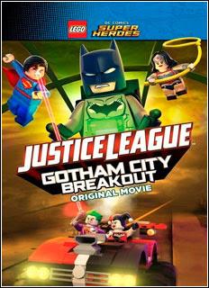 Download -  LEGO Liga da Justiça: Fuga em Massa em Gotham City (2016) Torrent BRRip Blu-Ray 720p / 1080p Dual Áudio