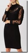 Coast Lace Trim Knit Dress