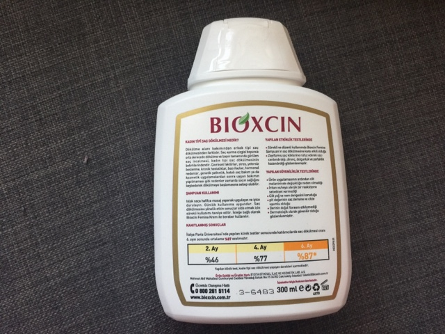 bioxcin femina şampuan