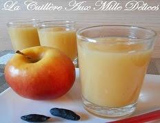 Compote pomme et fève tonka