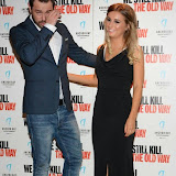 WWW.ENTSIMAGES.COM -   Dany Dyer and Dani Dyer  arriving at      We Still Kill The Old Way - private film screening at The Ham Yard Hotel, London September 29th 2014Private screening of forthcoming film about a group of former 1960s gangesters who come out of retirment to take on a group of youths after one of their number is murdered.                                                 Photo Mobis Photos/OIC 0203 174 1069