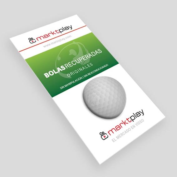 bolas de golf recicladas
