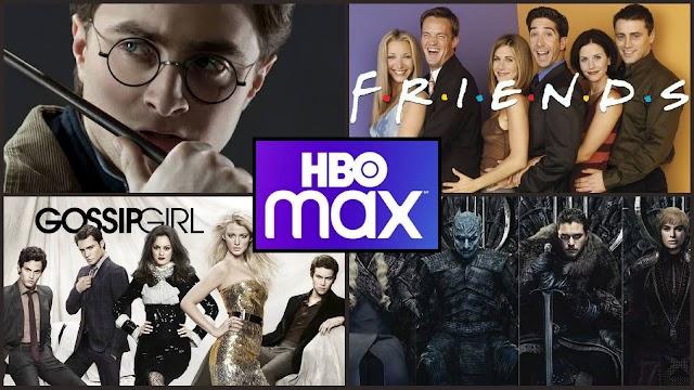 HBOMAX prorroga promoção com 50% de desconto até 31 de Julho aproveite para Maratonar Harry Potter, Friends e Gossip Girl