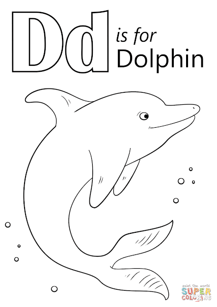 Dolphin Coloring Pages To View Printable Version Or Color It Online  Patible With Ipad And Android Tablets