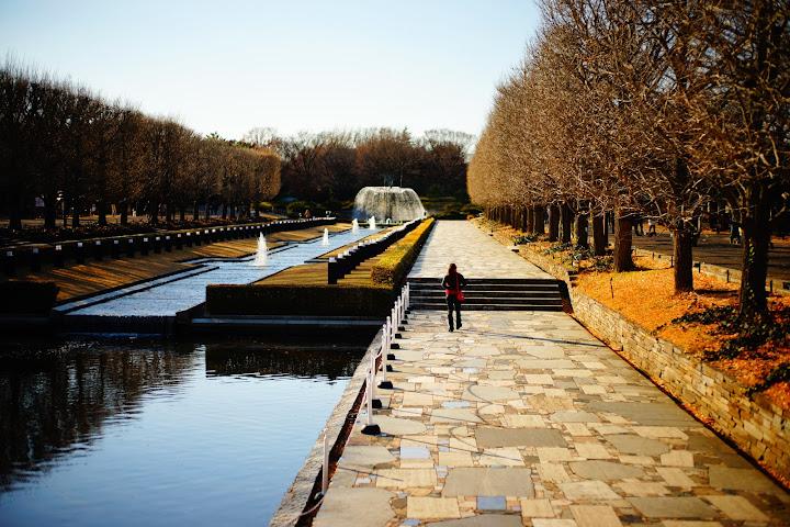 showa kinen park fountain