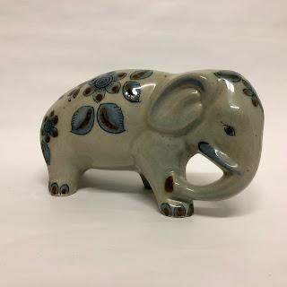Ceramic Mexican Elephant