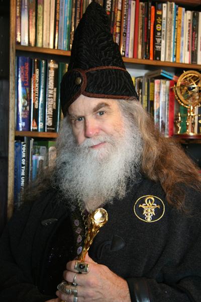 Oberon Zell Ravenheart Portrait, Oberon Zell Ravenheart