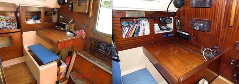 Rénovation bois vernis Dufour29 Edelvoilier