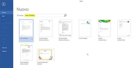 Estremamente Come creare fogli di carta intestata con Word e Libre Office  RK34