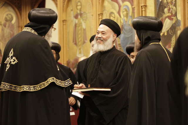 His Holiness Pope Tawadros II visit to St. Mark LA - _09A9236.JPG