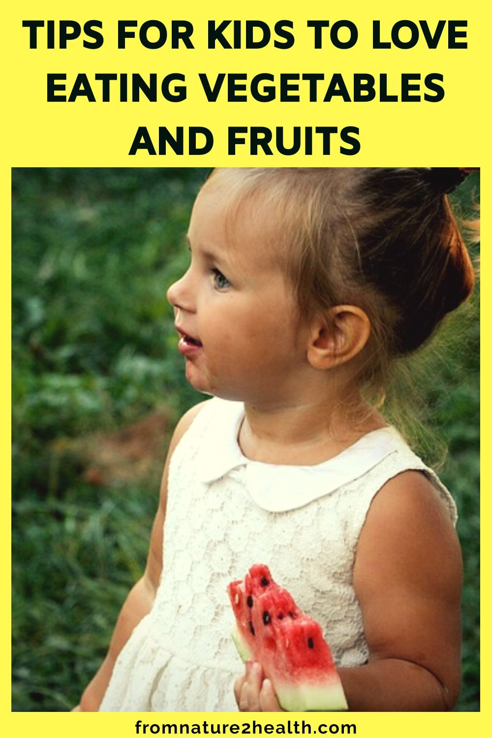 Tips for Kids to Love Eating Vegetables and Fruits
