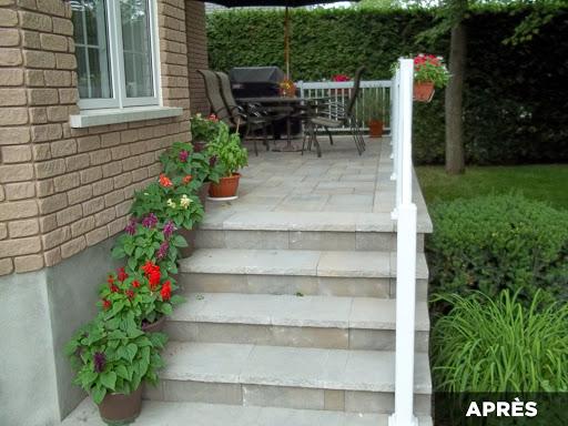 Pro paysage restauration ext rieur for Recouvrement de balcon exterieur