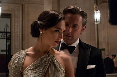 BATMAN v SUPERMAN: DAWN OF JUSTICE GAL GADOT as Diana Prince/Wonder Woman and BEN AFFLECK as Bruce Wayne/Batman
