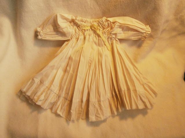 Shabby Chic Muslin Gown for Waldorf Dolls- Custom Order