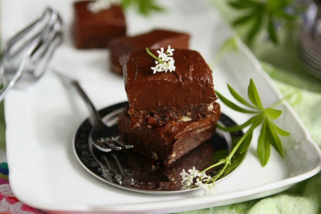 Vegan Gluten Free Fudge Brownies