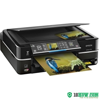 How to Reset Epson Artisan 710 lazer printer – Reset flashing lights error