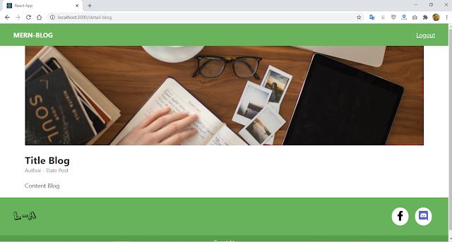 MERN Stack - Membuat Styling Halaman Detail Blog Post