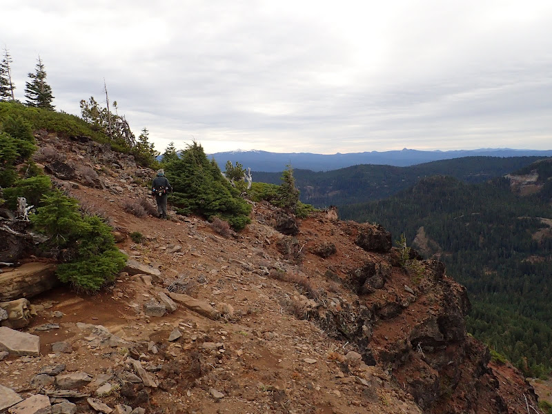 Rattlesnake Mountain Rogue-Umpqua Divide Wilderness Oregon