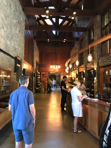 Robert Sinskey Vineyards Entryway and Tasting Bar