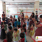 Dussehra Celebration of Playgroup Section (2017-18) at Witty World, Bangur Nagar