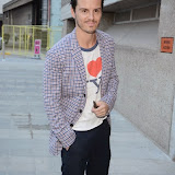 WWW.ENTSIMAGES.COM -     Andrew Scott    arriving at        BRIGHT YOUNG THINGS GALA 2014 at The National Theatre, London September 18th 2014A Young Patrons of the National Theatre gala event in support of emerging artists. The inaugural Bright Young Things Gala aims to raise vital funds in support of emerging artists at The National Theatre, and champion young philanthropy in the arts on a peer to peer level.                                               Photo Mobis Photos/OIC 0203 174 1069