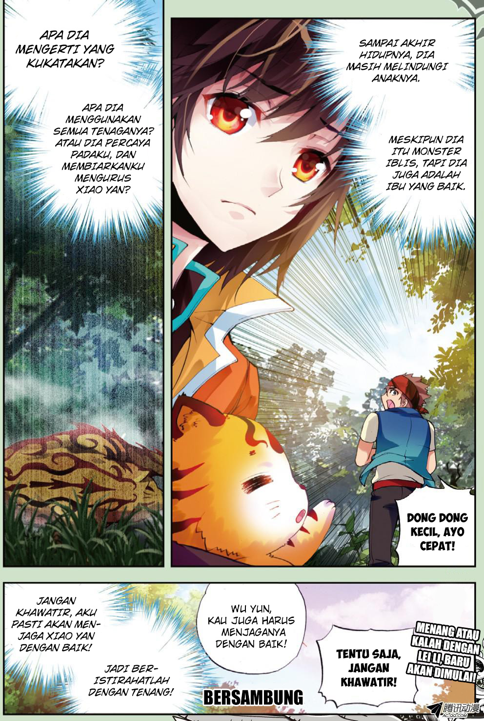 Baca Manga Wu Dong Qian Kun Chapter 20 Komik Station