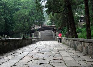 Photo: Path to the Taishan summit