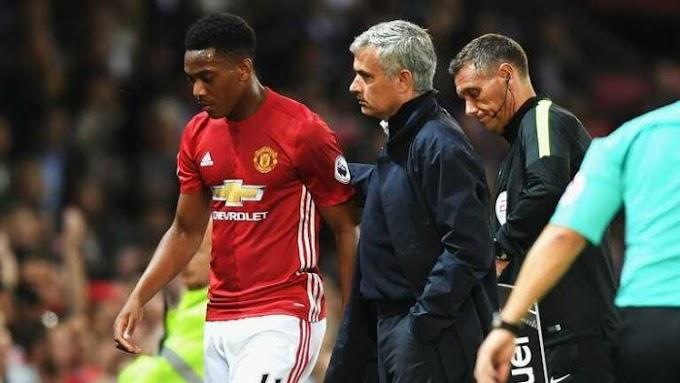 Premier League!! Jose Mourinho Finally Confirms Martial Was Fined For Leaving US Tour