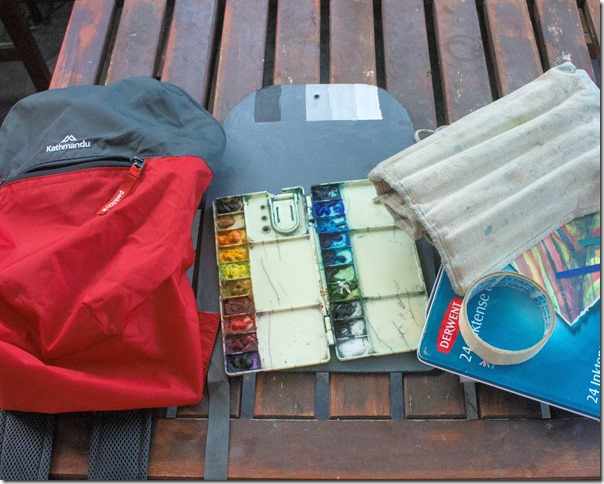 15L Pocket Pack & Contents