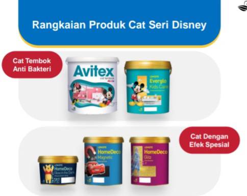 Avian Brands Produk Cat Seri Disney