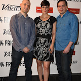 OIC - ENTSIMAGES.COM - Jaron Henrie-McCrea, Danni Smith and Martin Monahan at the Film4 Frightfest on Monday   of  Curtain UK Film Premiere at the Vue West End in London on the 31st  August 2015. Photo Mobis Photos/OIC 0203 174 1069