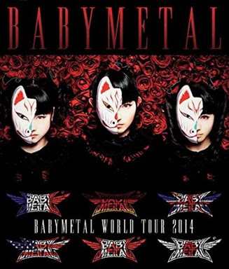 [TV-SHOW] BABYMETAL WORLD TOUR 2014 APOCALYPSE (BDRIP)