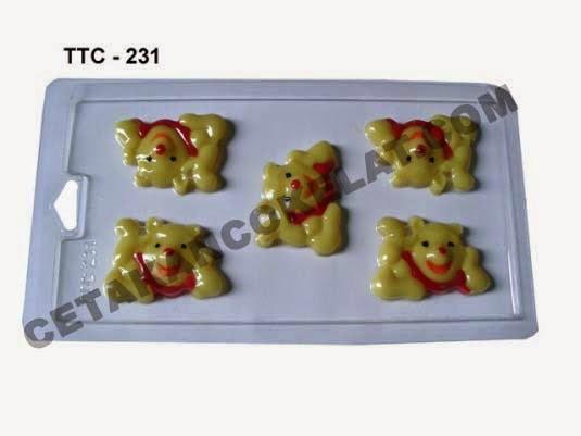 Cetakan Coklat TTC231 Winnie The Pooh