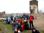 14.4.2012 Príprava obliehania hradu Šariš