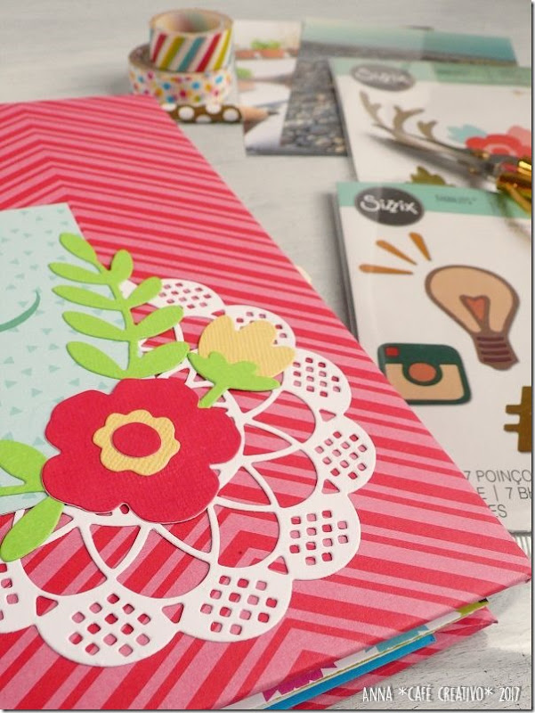 Mini Album per l'estate con Big Shot e Fustelle Sizzix