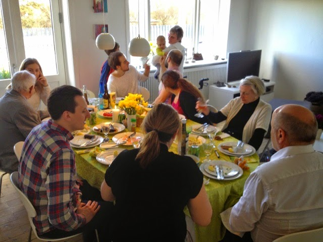 Double BD Easter lunch