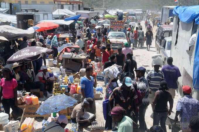 Policía haitiana retiene 32 productos de la RD
