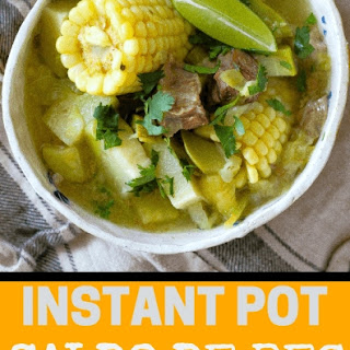 Caldo De Res in Instant Pot Recipe
