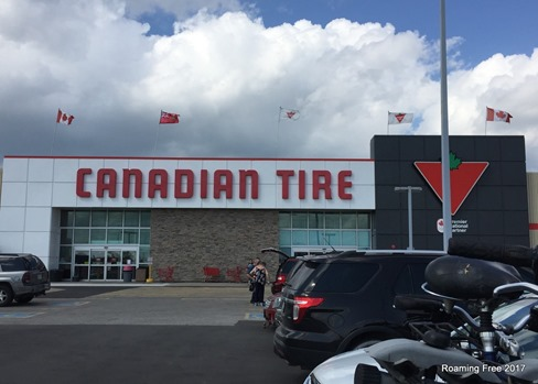 Couldn't go to Canada without stopping in at Canadian Tire
