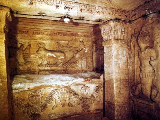 Catacumbas subterrâneas de Alexandria 02