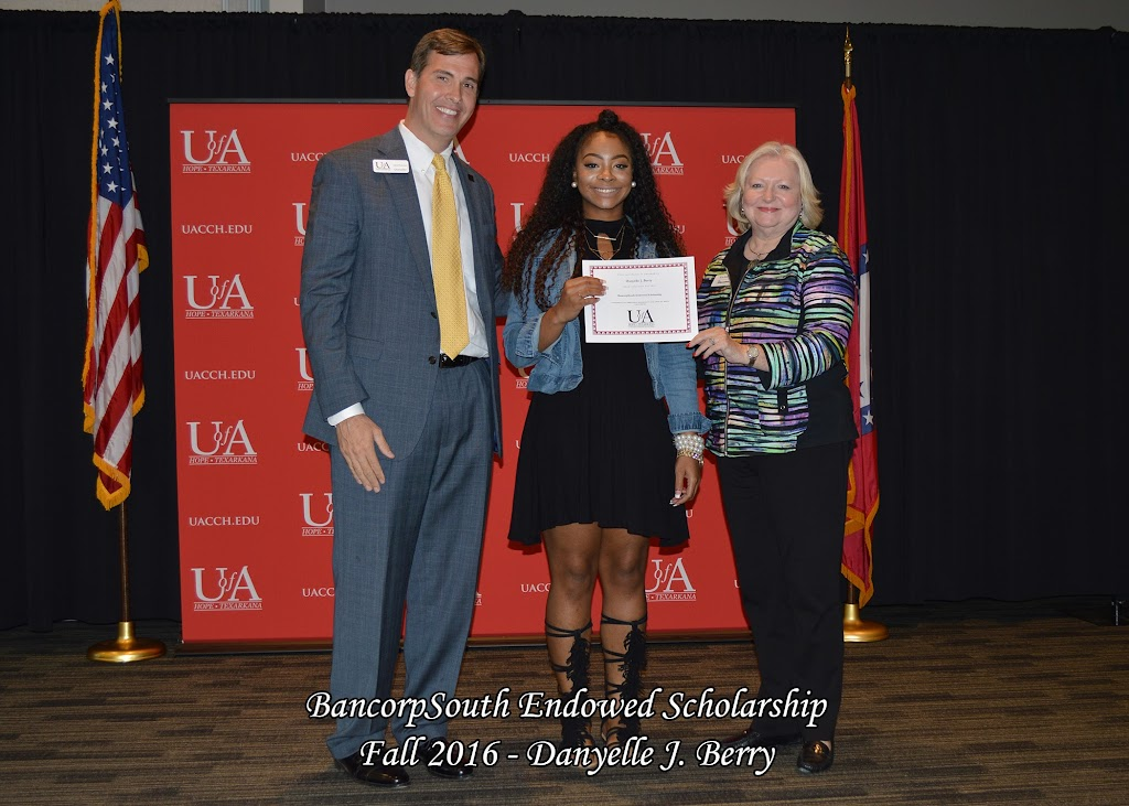 Fall 2016 Scholarship Ceremony - BancorpSouth%2BEndowed%2B-%2BDanyelle%2BJ.%2BBerry.jpg