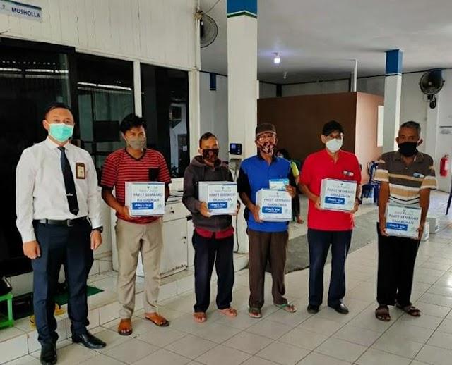 Sembako Gratis Bank Kalsel Sasar Pensiunan Banjarbaru