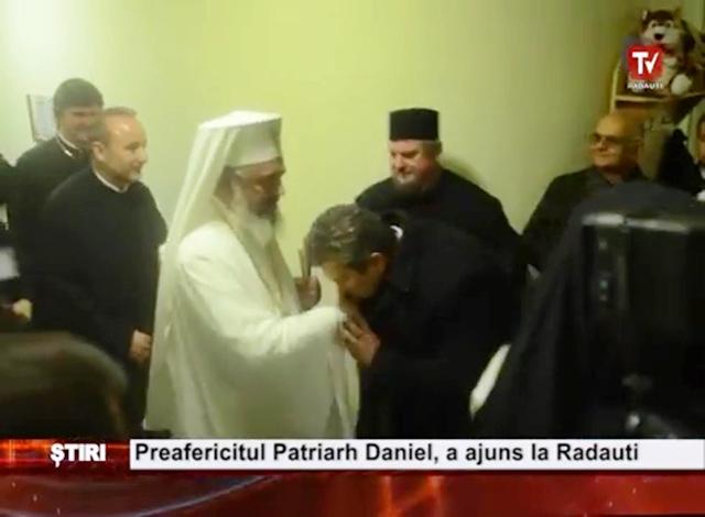 Preafericitul Daniel și Preatristul Păcălin