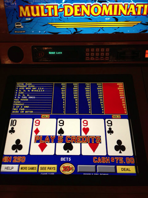 Video Poker Quad